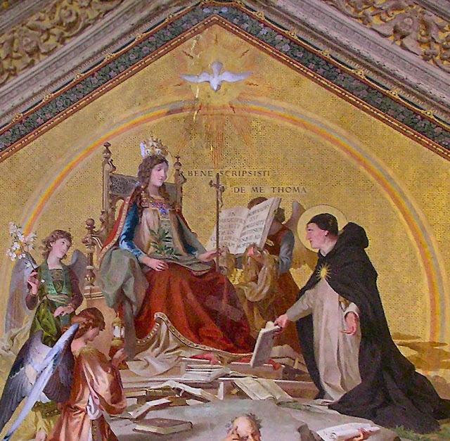 São Tomás de Aquino, Vaticano