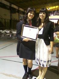 Àngels i Panxeta, al jorn de graduació de la secundària de l'Àngels