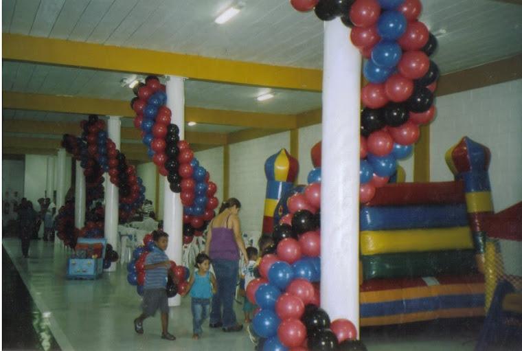 Pula Pula e decoração balão