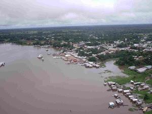 Frente da Cidade de Carauari