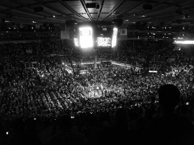 Lovely Included Among The Nearly 18,000 Spectators In Attendance At Last Nightu0027s Madison  Square Garden Show Featuring Miguel Cotto And Joshua Clottey, ... Nice Design