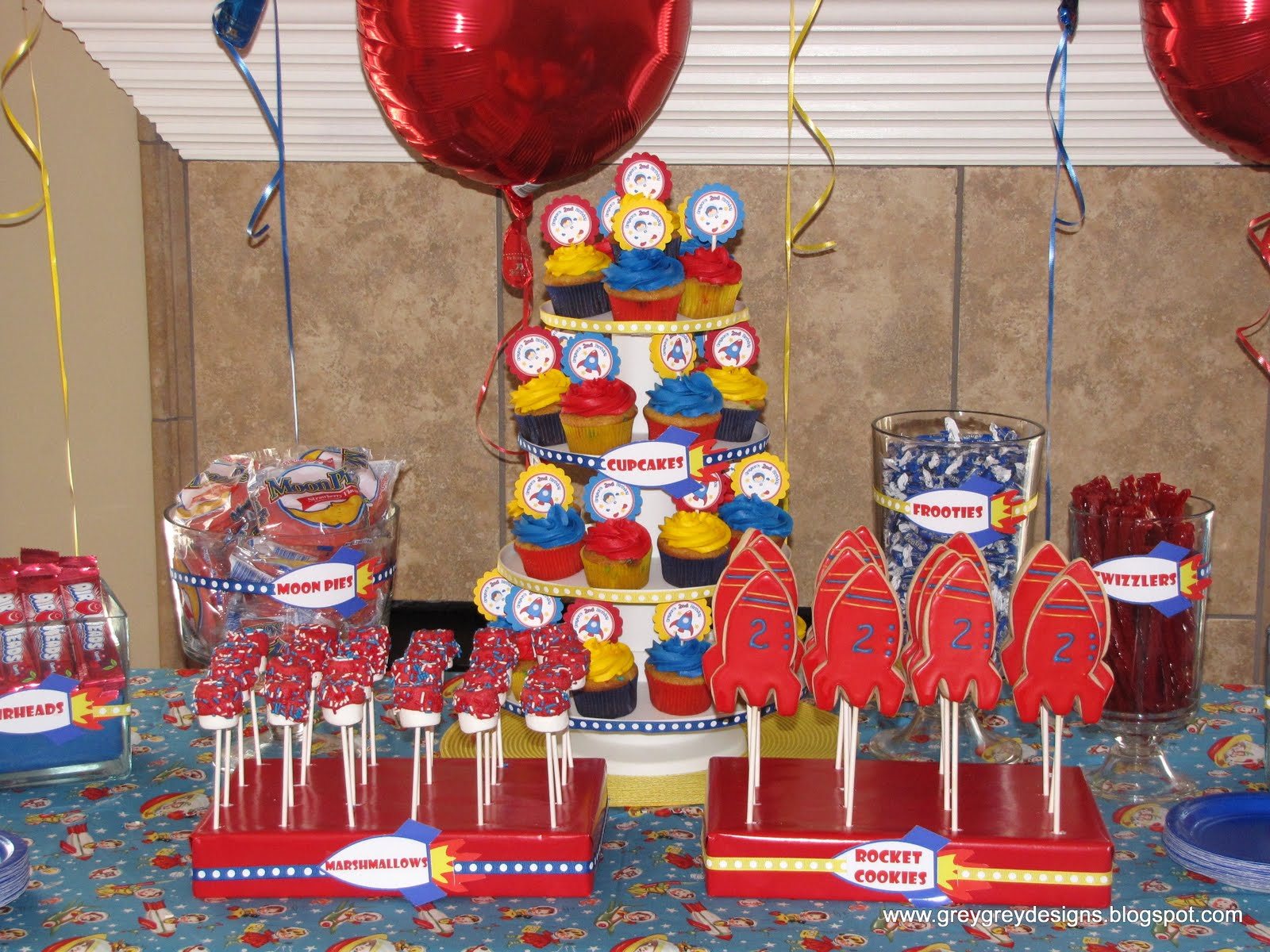 Greygrey designs my parties greysons retro rocket 2nd birthday greygrey designs my parties greysons retro rocket 2nd birthday party filmwisefo