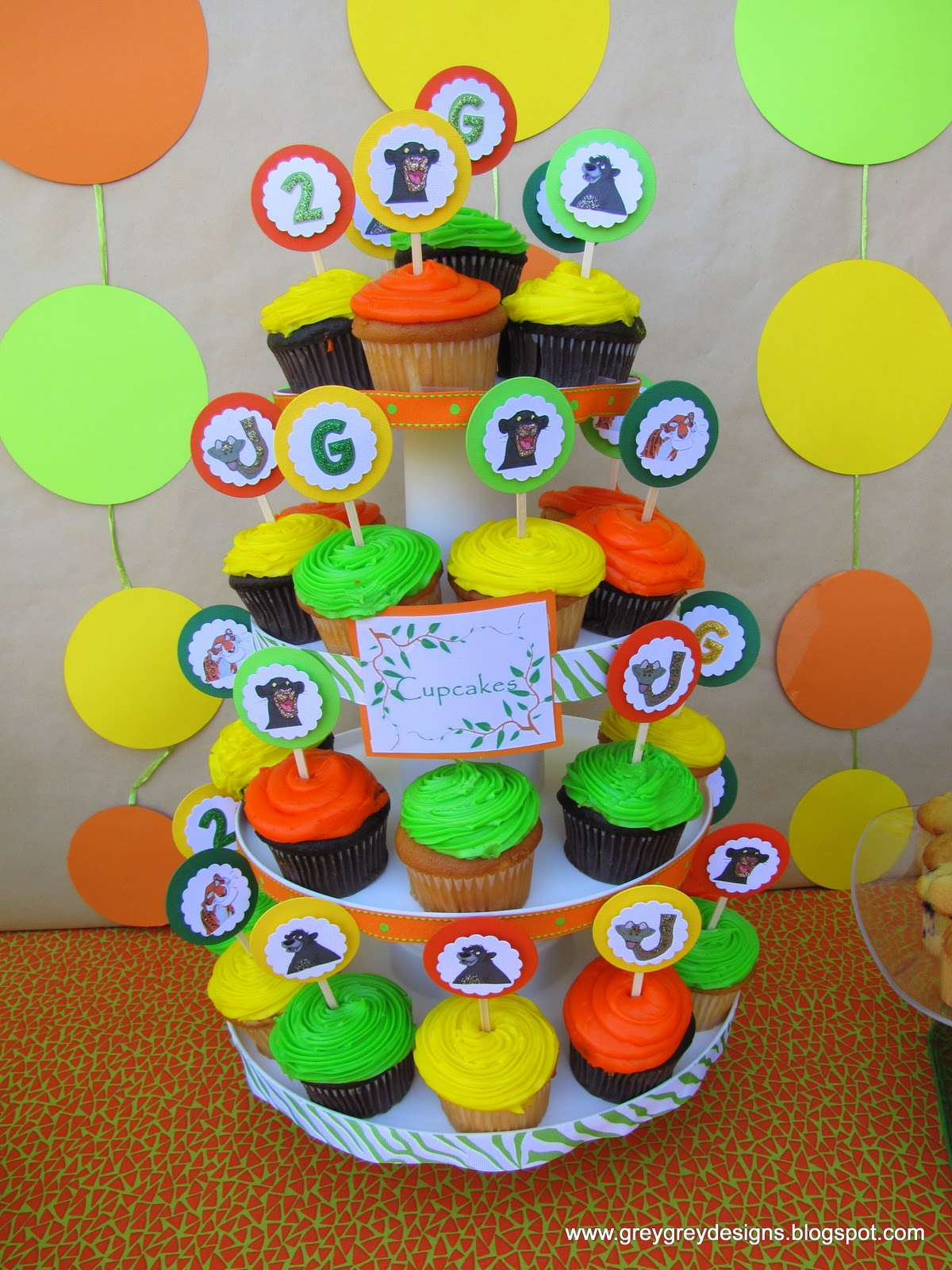 GreyGrey Designs Grants Jungle Book 2nd Birthday Party