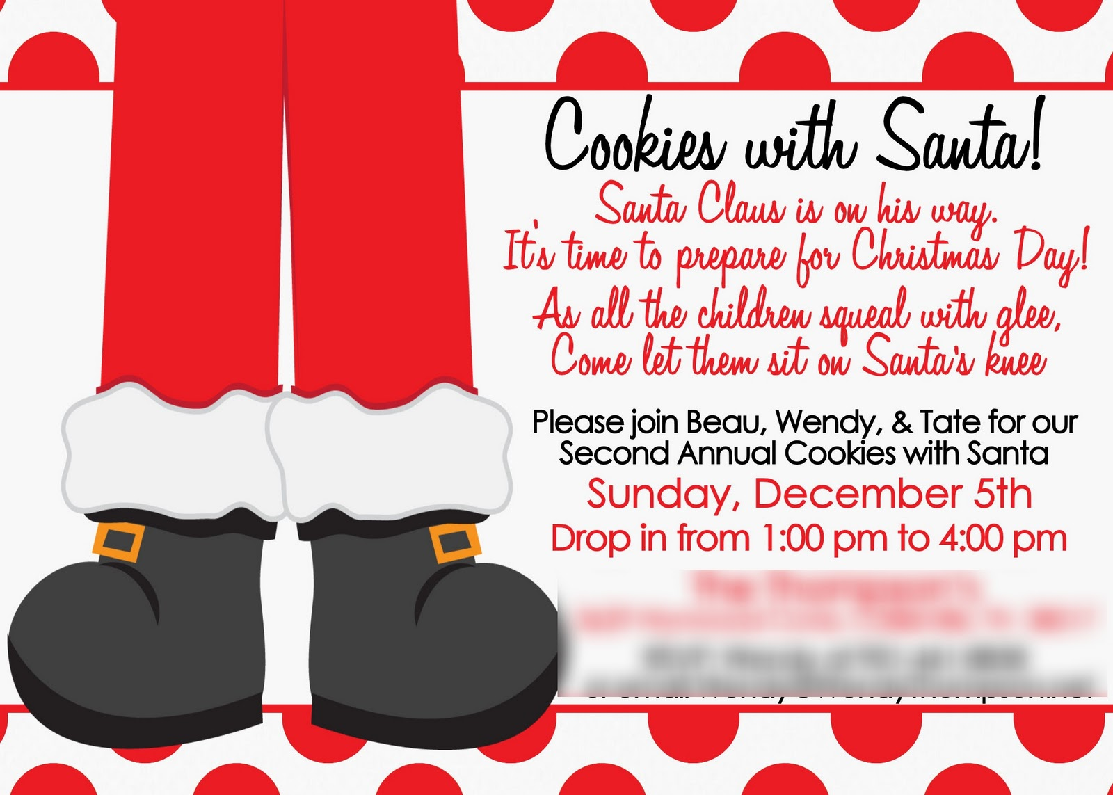 GreyGrey Designs: {My Parties} Cookies with Santa Party!