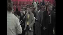 Rajada de Gloria na Catedral da Assembleia de Deus em Cabo Frio.
