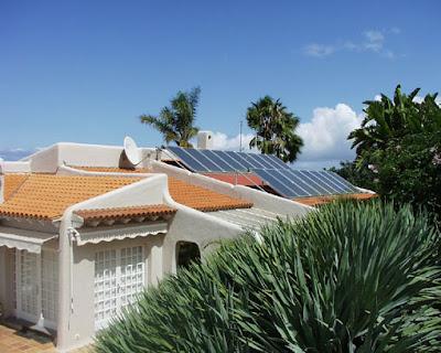 Instalación solar térmica en vivienda