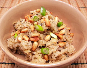 Herbed Brown Basmati Rice