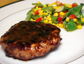 Five-Spice Barbecued Pork Chops with Asian-Style Succotash (Adapted ...