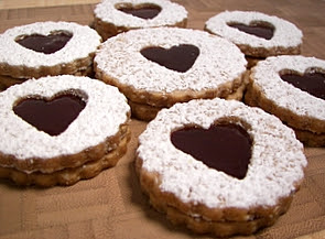 Linzer Sables (Adapted from Baking From My Home To Yours)