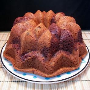 Marble Chocolate Vanilla Bundt Cake