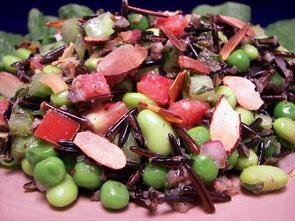Wild Rice Succotash Salad