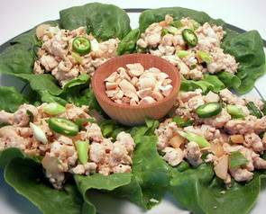 Thai Chicken Lettuce Cups Picture