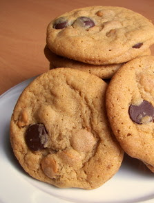 Soft Baked Butterscotch-Chocolate Chip Cookies