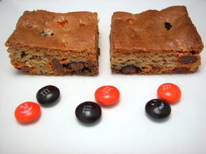 M&amp;M Cookie Bars