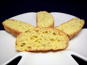 Cornmeal-Chili Pepper Biscotti