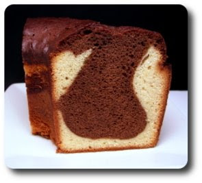 ... out and prepared this monster Malted Milk Black and White Pound Cake