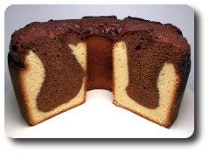 Malted Milk Black and White Pound Cake (Adapted from Baking in America ...