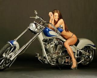 Hot Harley Babe