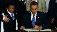 Barack Hussein's human-shield child hostage