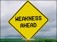 ObamiserableFailure's Weakness Ahead
