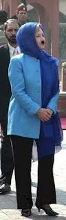 Her Nibs' pantsuit-burka
