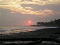 Sunset Punta Tunco, El Salvador