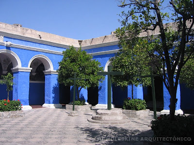 Mi moleskine arquitect nico monasterio de santa catalina - Cual es el color anil ...
