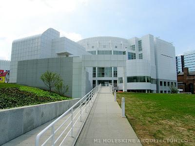 Mi moleskine arquitect nico richard meier museo high Cuantas materias tiene arquitectura