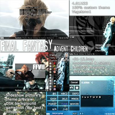 final fantasy 7 psp: