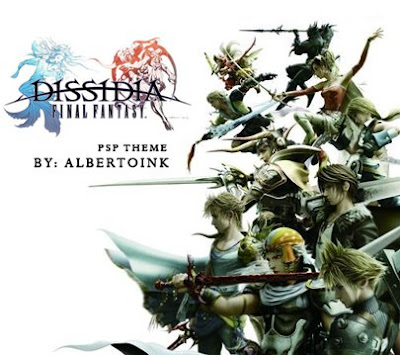 free psp themes final fantasy