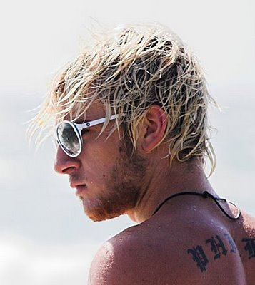 The Surfer Haircut can be a good medium length. hairstyle for men that lead