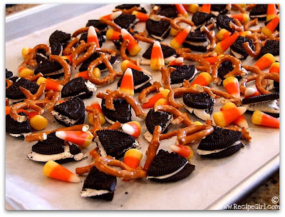 The Recipe Girl: Candy Corn Cookie Bark