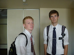 Elder Nelson and Elder Carr in Numazu