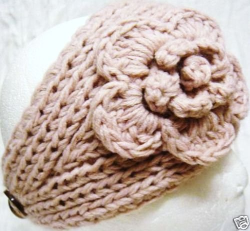 Knitting Patterns For Ear Warmers With Flower : PaddiCakes: Steal of the Week - Knit Ear Warmer Headbands ...