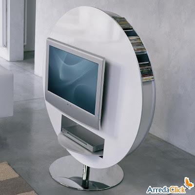 Design tv möbel drehbar  ArredaClick - Italienisches Designmöbel Blog: Design drehbare Tv ...