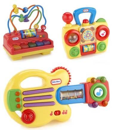 musical toys: