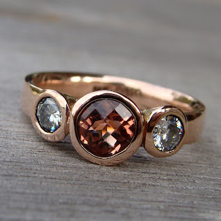rose gold wedding ring