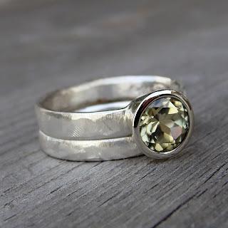 zultanite wedding rings