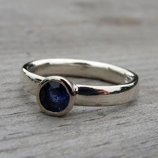 sapphire wedding ring