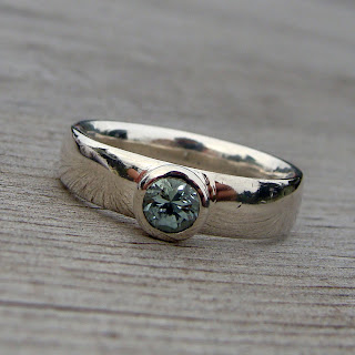 blue tourmaline ring