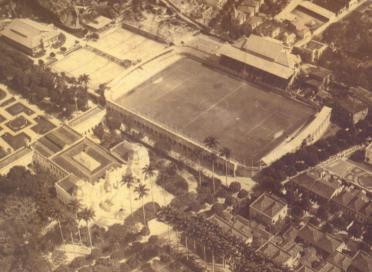 Estádio das Laranjeiras em 1921