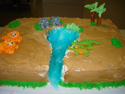 Trish Safari Cake
