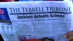 newspaper-ignores-obama-victory-terrell-tribune-obama-acceptance-speech-michelle-obama