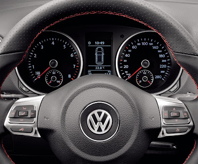 2010 Volkswagen Golf GTI adidas Gauges View