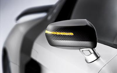 2011 Audi R8 GT Rearview Mirror