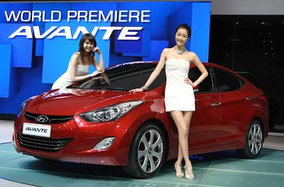 2011 Hyundai Avante Car Photo