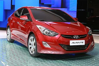 2011 Hyundai Avante Sports Sedan