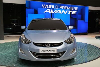 2011 Hyundai Avante Front View