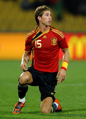 Sergio Ramos Spain Football Player
