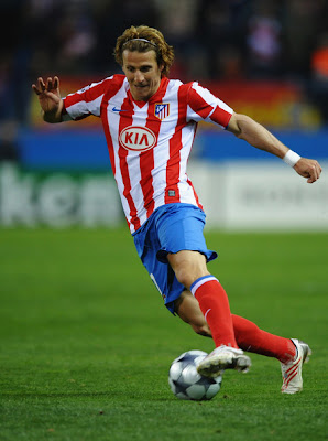 Diego Forlan in Action